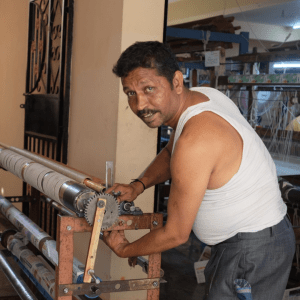 Prakesh, Weaver & Loom Maintenance